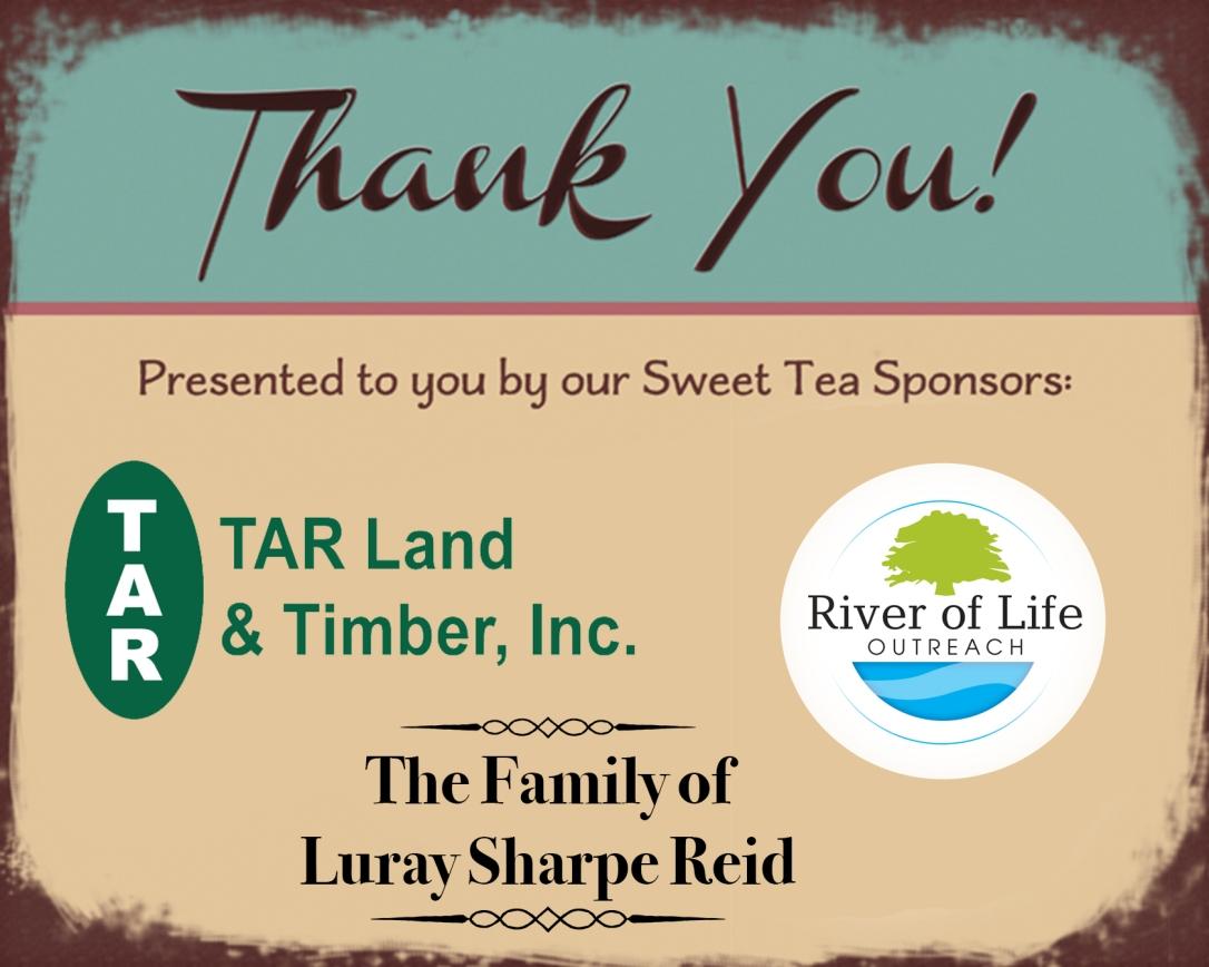 Sweet Tea sponsors 2017